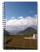 Los Gigantes Spiral Notebook