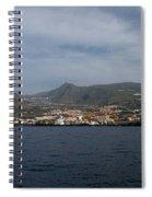 Los Gigantes Panorama 2 Spiral Notebook