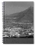 Los Gigantes Panorama 3 Spiral Notebook