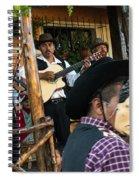 Los Historiantes De Apaneca 5 Spiral Notebook