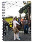Los Historiantes De Apaneca Spiral Notebook