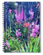 Los Osos Flower Garden Spiral Notebook