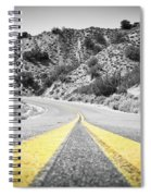 Los Padres Country Highway Spiral Notebook
