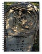 Lost At Birth Spiral Notebook