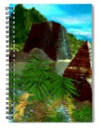 Lost City Spiral Notebook