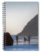 Lost Coast Surfers Spiral Notebook