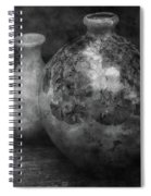 Lost Crystal Glaze Vessels 1722 Bw_2 Spiral Notebook