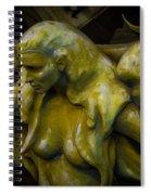 Lost Golden Angel Spiral Notebook