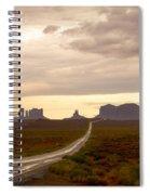 Lost Highway Spiral Notebook
