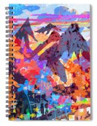 Lost In Colorado Spiral Notebook