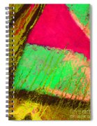 Lost In Colour Spiral Notebook