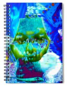 Lost In Davy Jones Locker Spiral Notebook