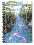 Lost In The Amazon Spiral Notebook