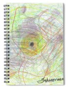 Lost In The Forest 2013 Spiral Notebook