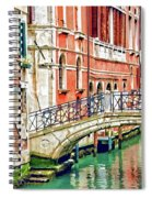 Lost In Venice Spiral Notebook