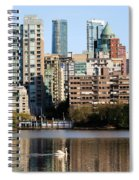 Lost Lagoon Vancouver  Spiral Notebook