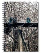 Lost Power Spiral Notebook