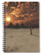 Lost Pyramids Spiral Notebook