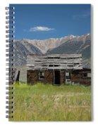 Lost River Range Cabin Spiral Notebook
