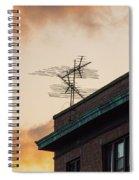 Lost Signal Spiral Notebook