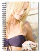 Lost Starfish Spiral Notebook