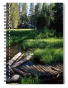Lost Trout Creek Spiral Notebook