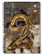 Lot Number Two Spiral Notebook