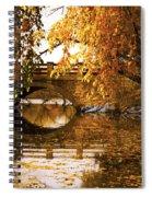 Lothlorien Or Wisconsin Spiral Notebook