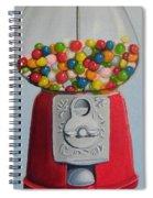 Lots Of Gumballs Spiral Notebook