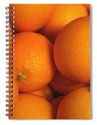 Lots Of Oranges Spiral Notebook
