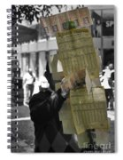 Lottery Man Spiral Notebook