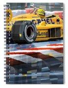 Lotus 99t 1987 Ayrton Senna Spiral Notebook
