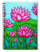 Lotus Bliss II Spiral Notebook