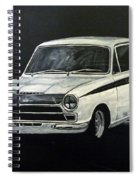 Lotus Cortina Spiral Notebook