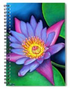 Lotus Divine Spiral Notebook