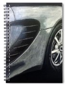 Lotus Exige Rear Side Spiral Notebook