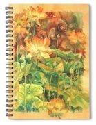 Lotus Field Spiral Notebook
