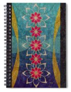Lotus Garden Spiral Notebook