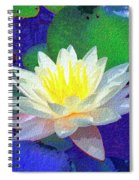 Lotus Grace Spiral Notebook
