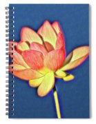 Lotus Spiral Notebook