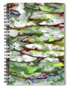 Lotus Leaves Spiral Notebook