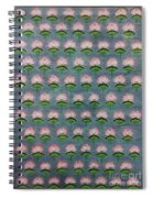 Lotus Pichwai Miniature Spiral Notebook