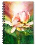 Lotus - Spirit Of Life Spiral Notebook