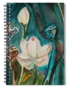 Lotus Study I Spiral Notebook