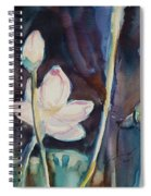 Lotus Study II Spiral Notebook