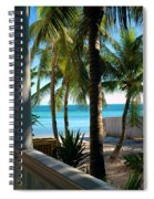 Louie's Backyard Spiral Notebook