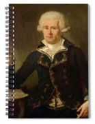 Louis Antoine De Bougainville 1790 Spiral Notebook