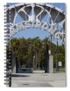 Louis Armstrong Park - New Orleans Louisiana Spiral Notebook