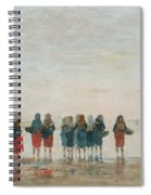 Louis Boudin Spiral Notebook