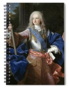 Louis De Bourbon Of Savoy. Prince Of Asturias. Later Louis I Of Spain  Spiral Notebook